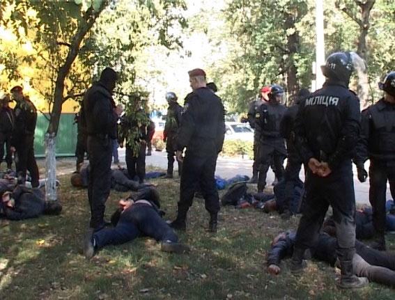 Арест бандитов в Академгородке